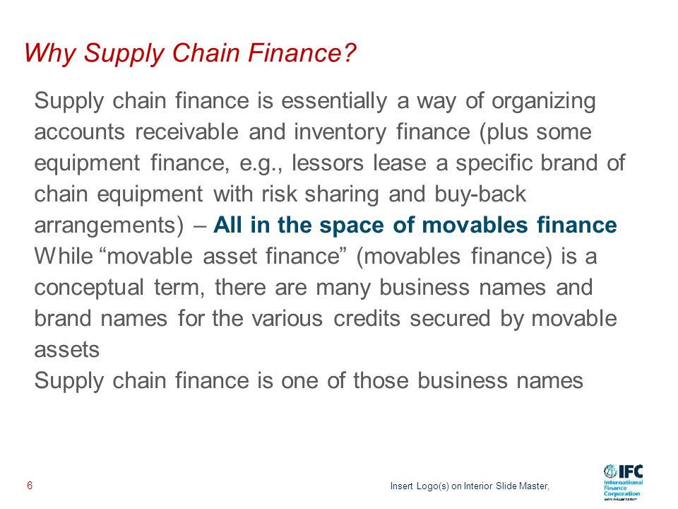 Who are Involved in Supply Chain Finance