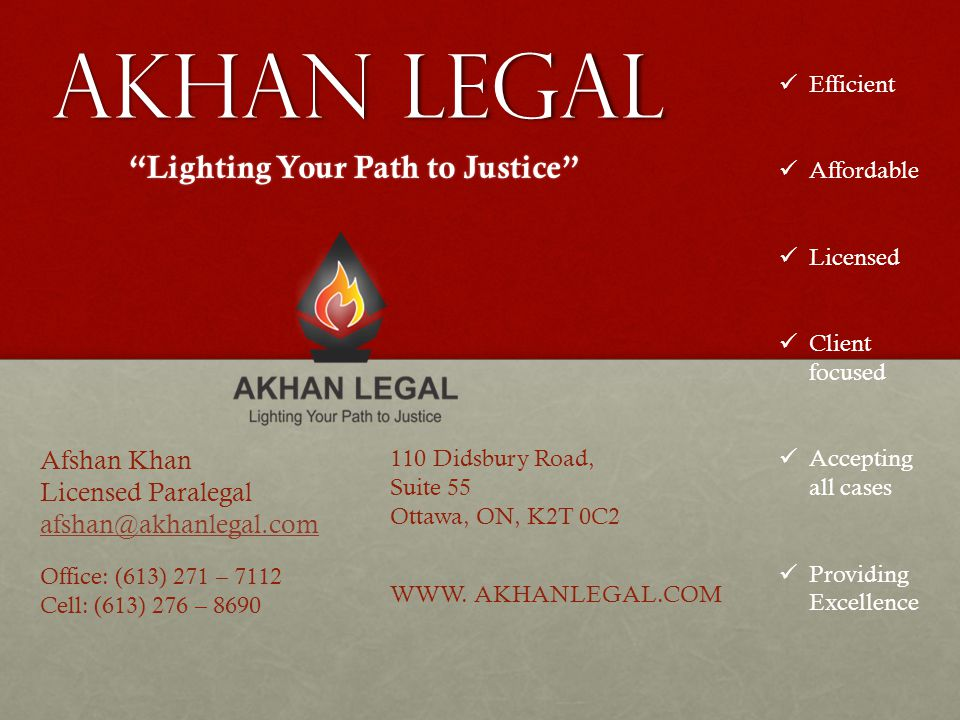 Lighting Your Path to Justice