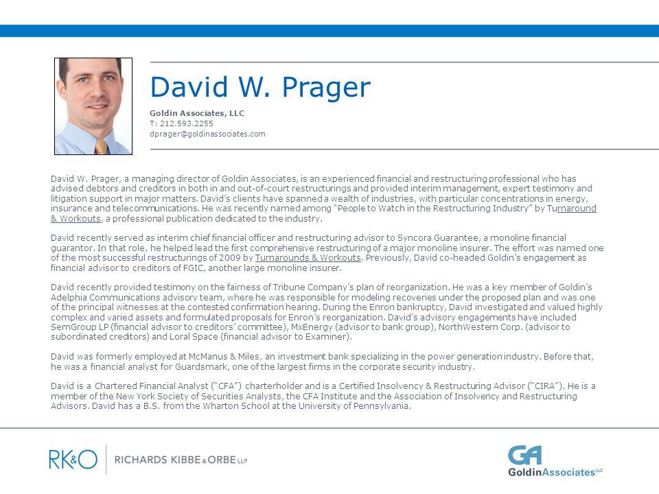 About Goldin Associates, LLC