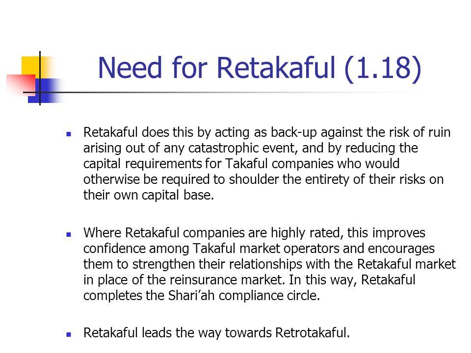 Need for Retakaful (1.18)