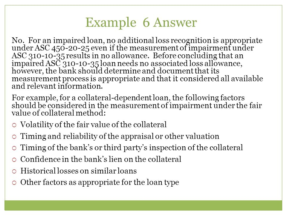 Example 6 Answer