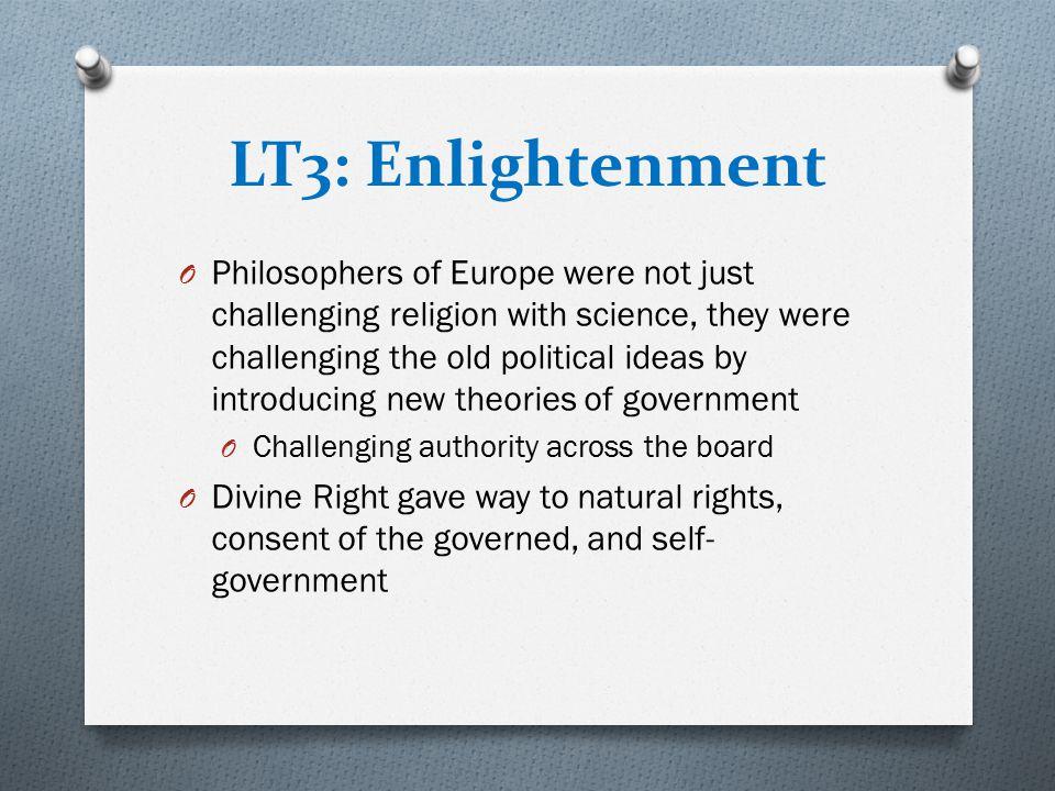 LT3: Enlightenment