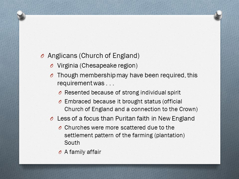Anglicans (Church of England)