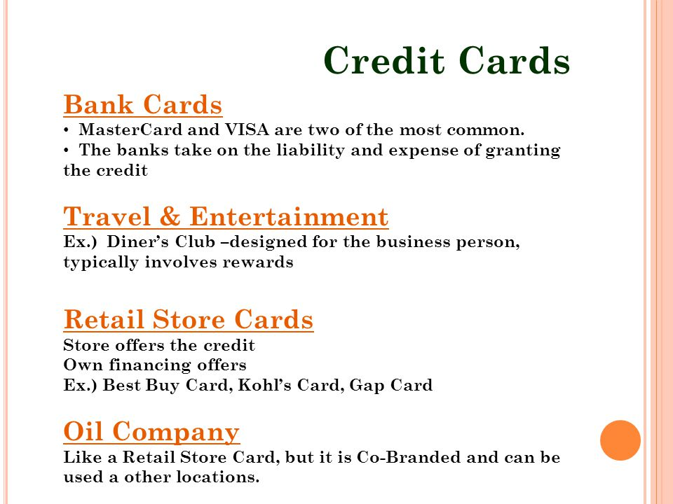 Consumer credit understanding the fundamentals of using credit and 8 credit cards bank cards reheart Choice Image