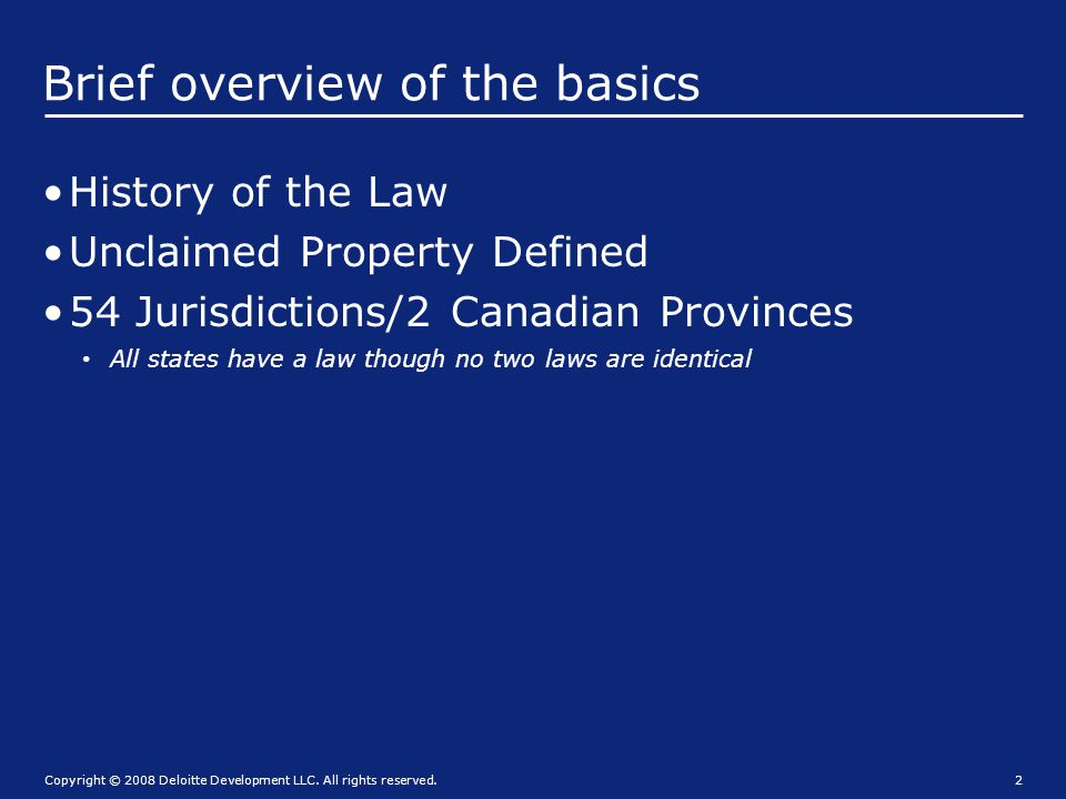 Uniform acts 1954 Uniform Unclaimed Property Act