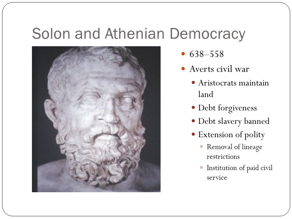 Solon and Athenian Democracy