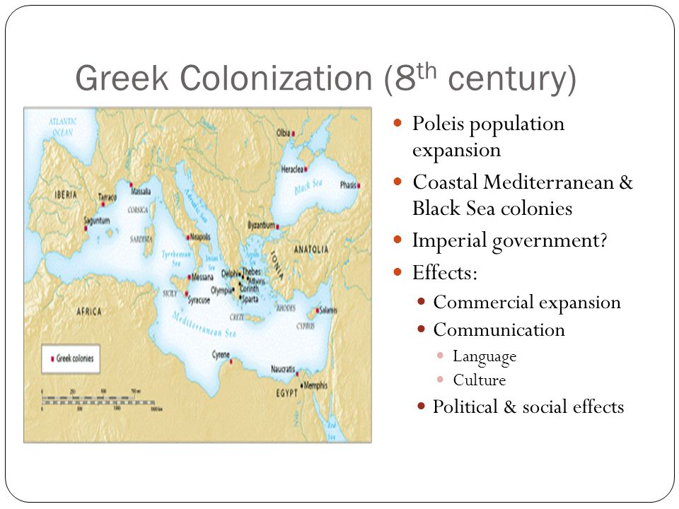 Greek Colonization (8th century)