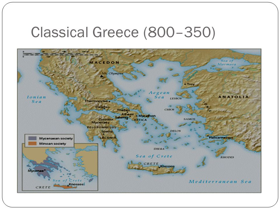 Classical Greece (800–350)