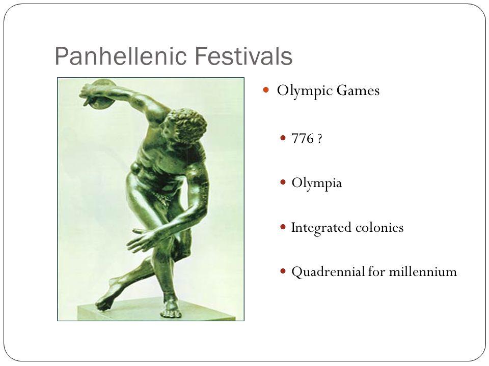 Panhellenic Festivals