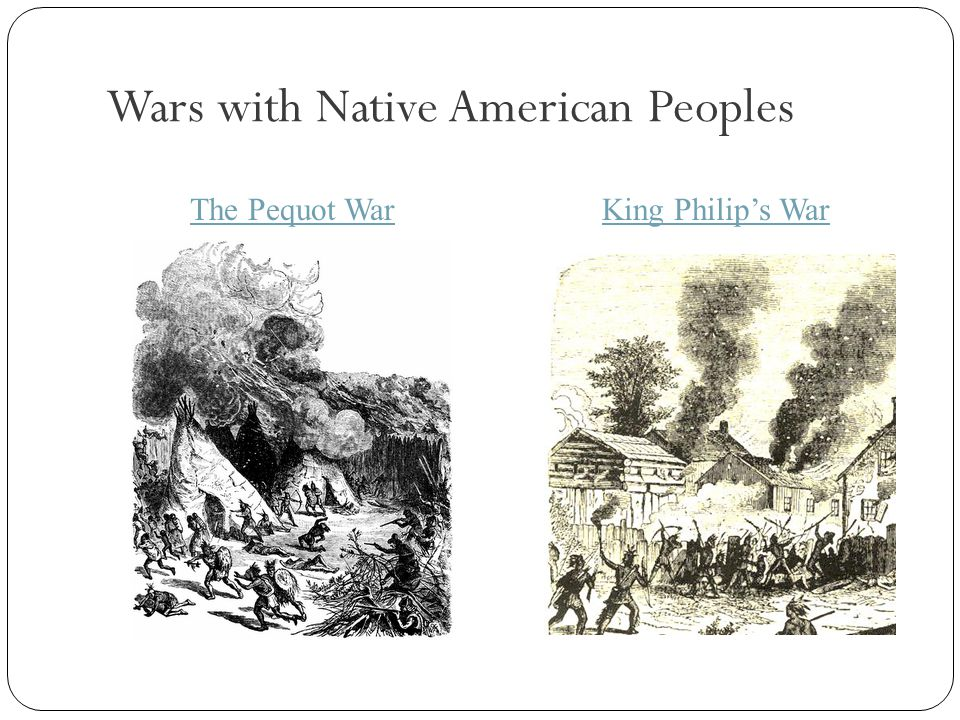 Wars with Native American Peoples