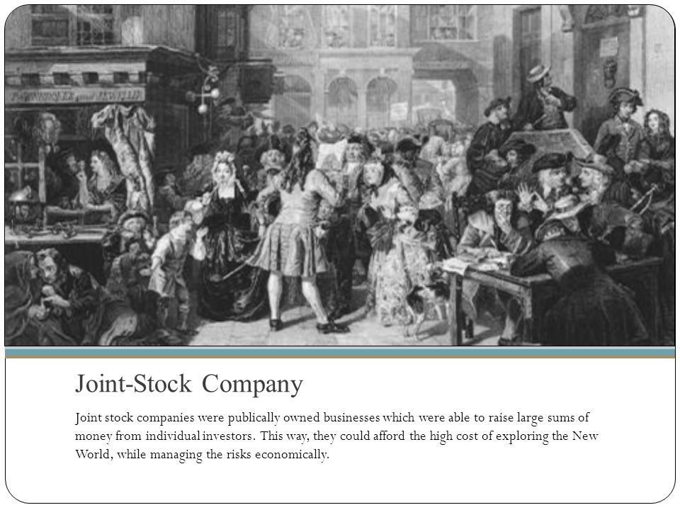 Joint-Stock Company