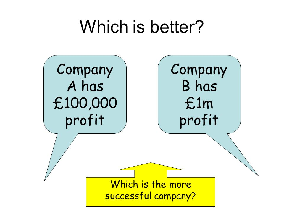 Which is the more successful company