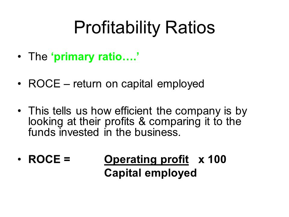return on capital employed of tesco Terry's definition of returns is roce (return on capital employed) – operating   tesco was destroying shareholder value whilst increasing eps.