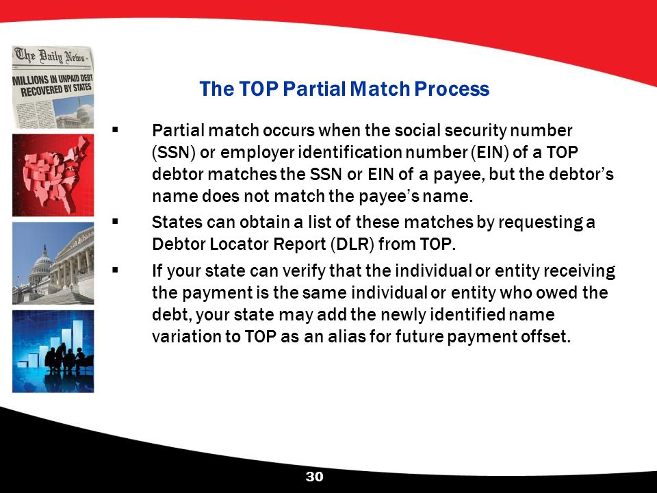 The TOP Partial Match Process