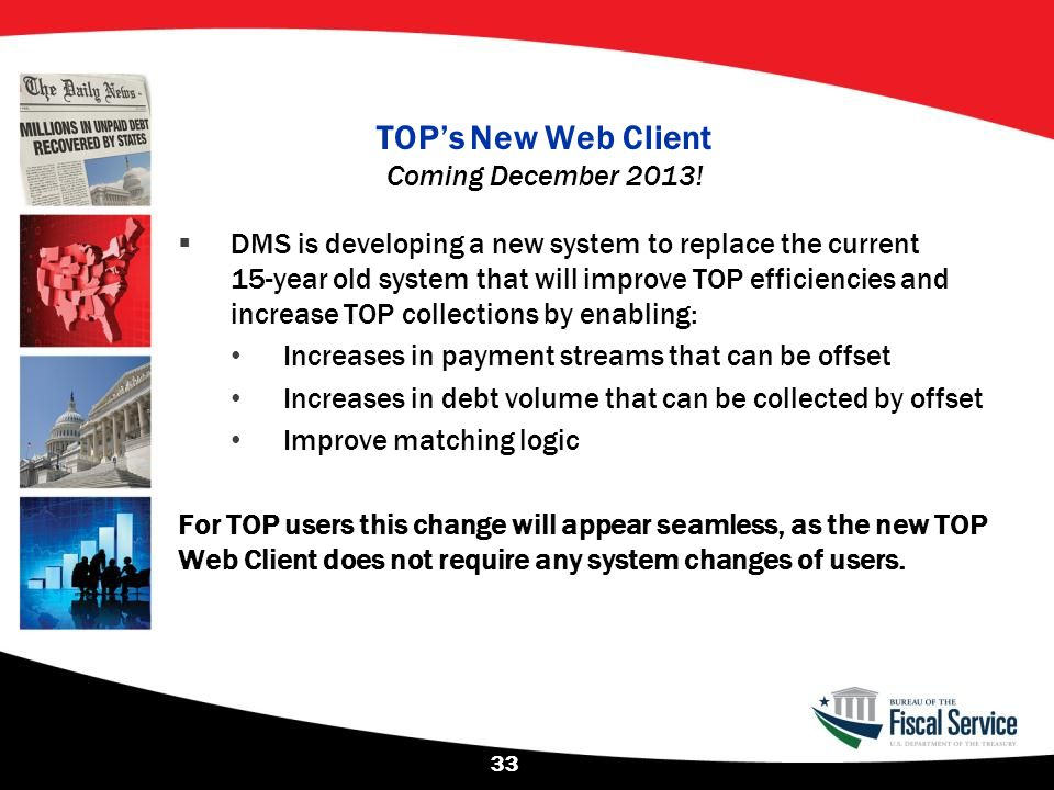 TOP's New Web Client Coming December 2013!