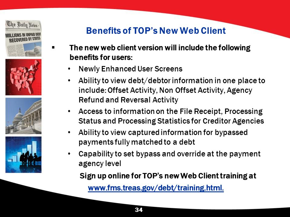 Benefits of TOP's New Web Client