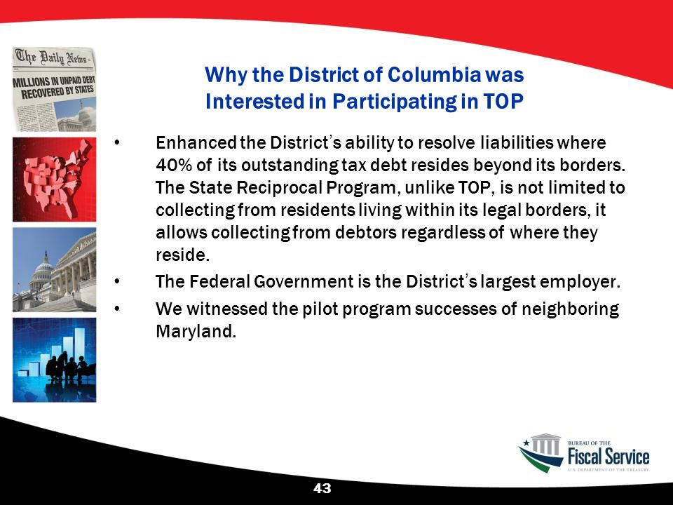 Why the District of Columbia was Interested in Participating in TOP