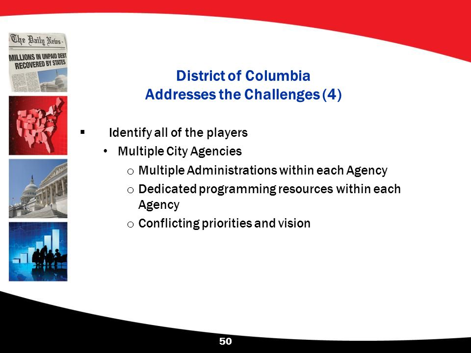 District of Columbia Addresses the Challenges (4)