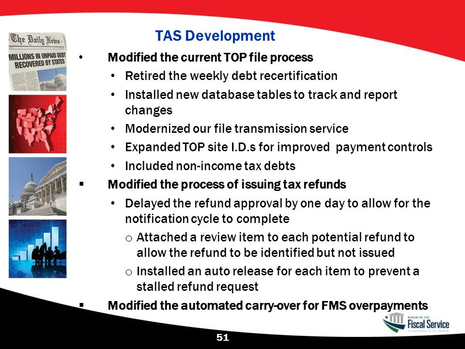 TAS Development Modified the current TOP file process