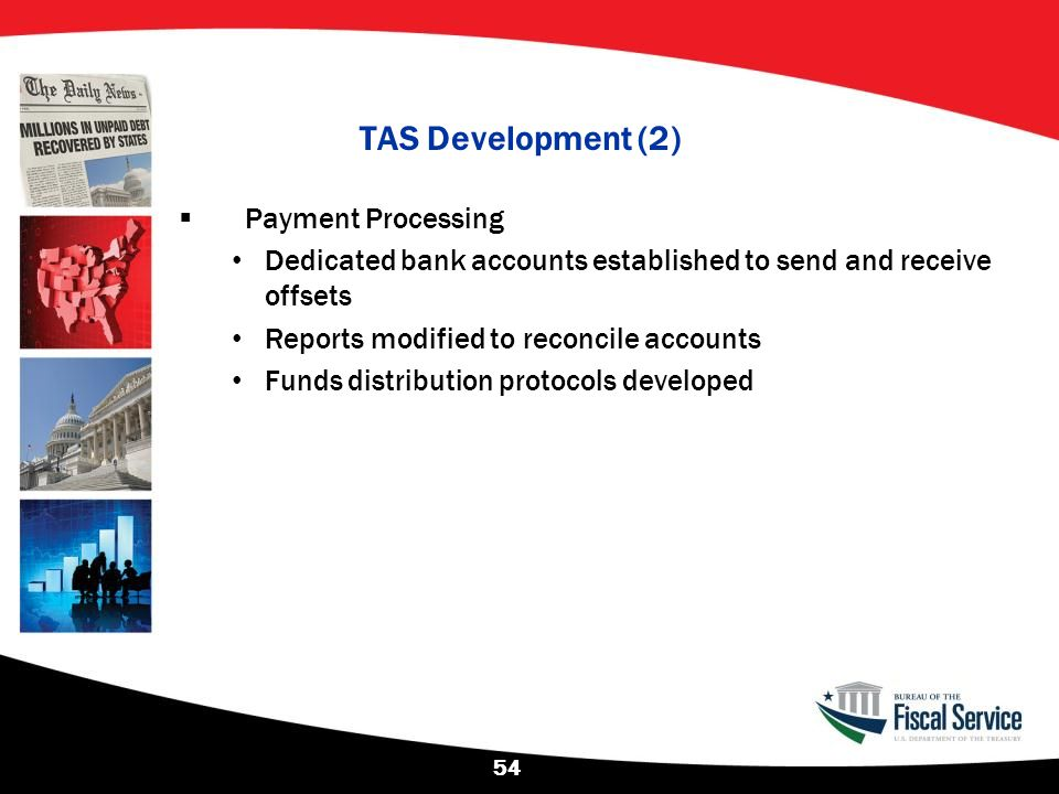 TAS Development (2) Payment Processing