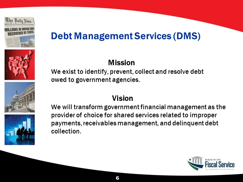 Debt Management Services (DMS)