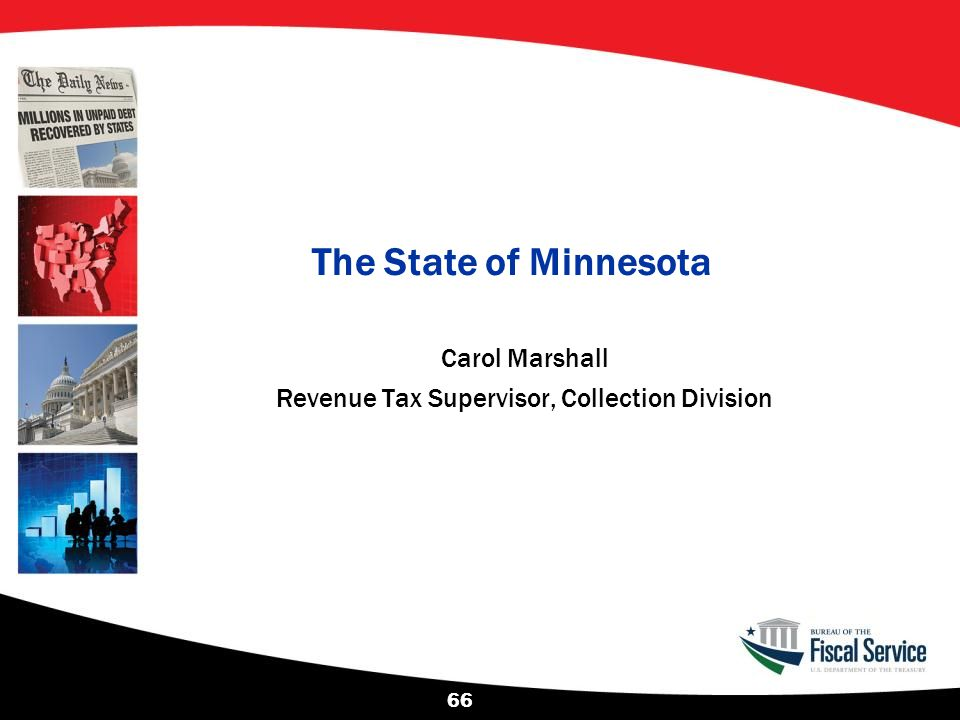 Carol Marshall Revenue Tax Supervisor, Collection Division
