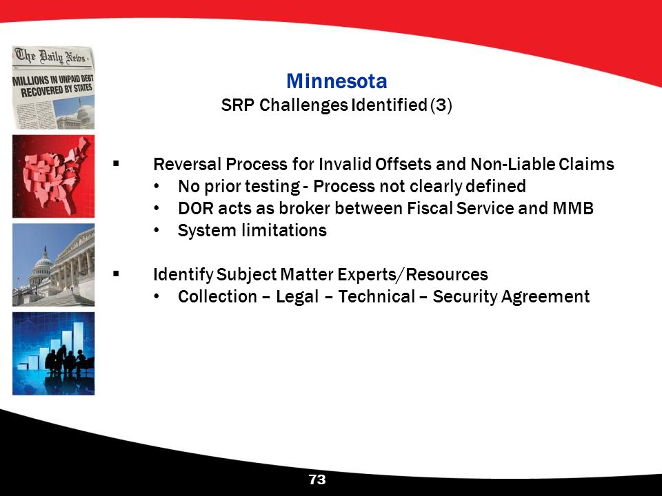Minnesota SRP Challenges Identified (3)