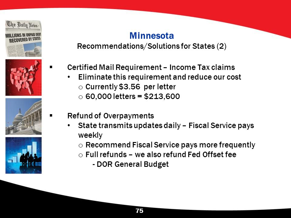 Minnesota Recommendations/Solutions for States (2)