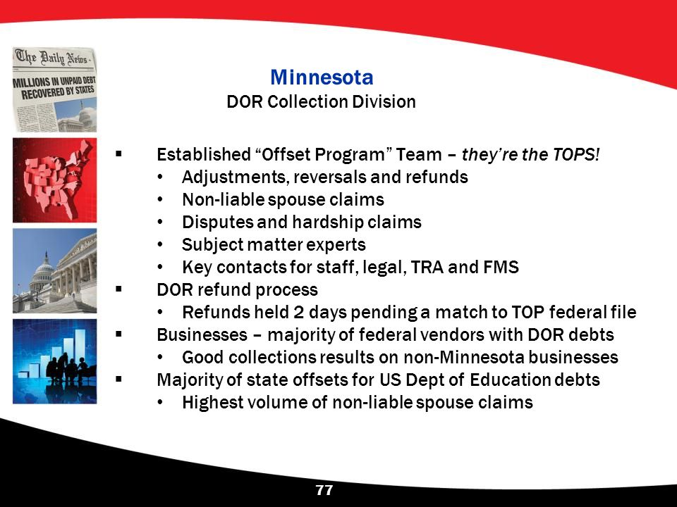Minnesota DOR Collection Division