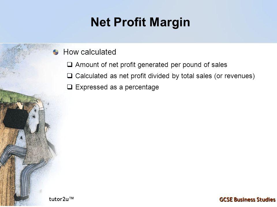 Net Profit Margin How calculated
