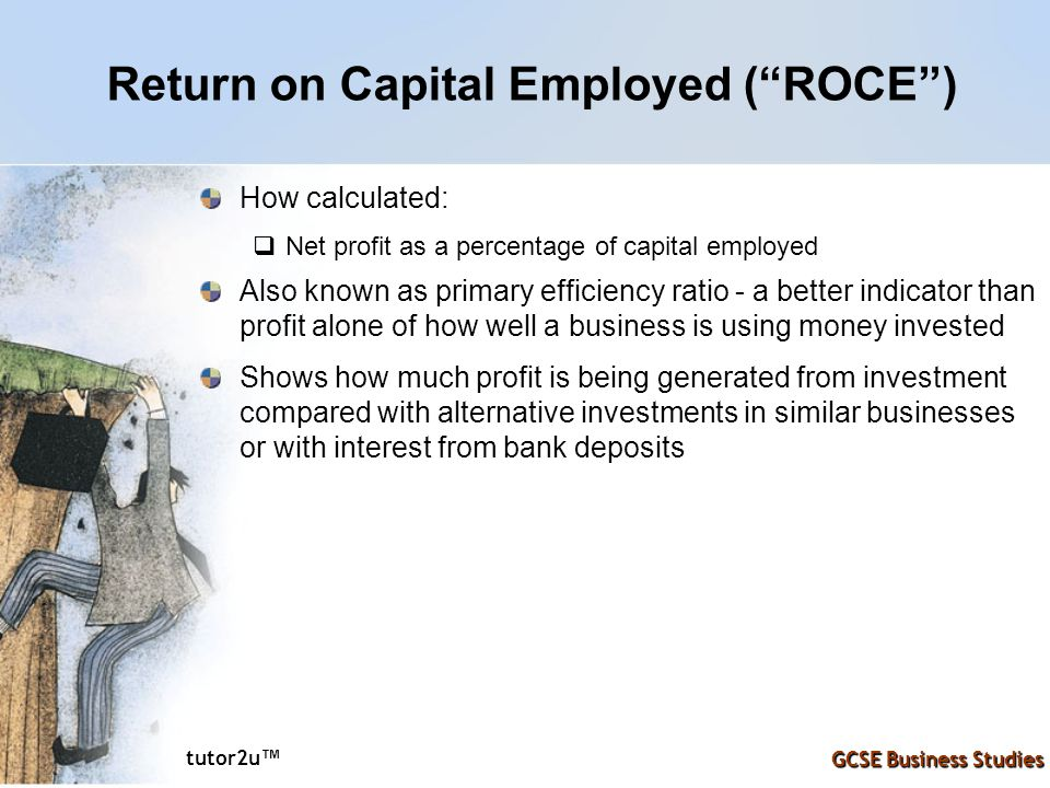 Return on Capital Employed ( ROCE )