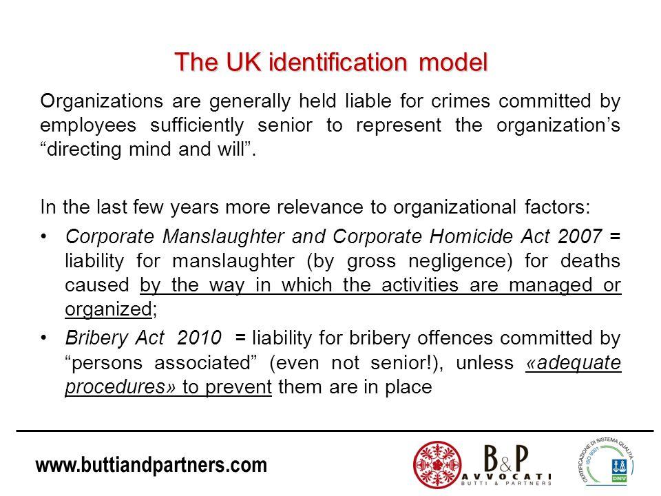 The UK identification model