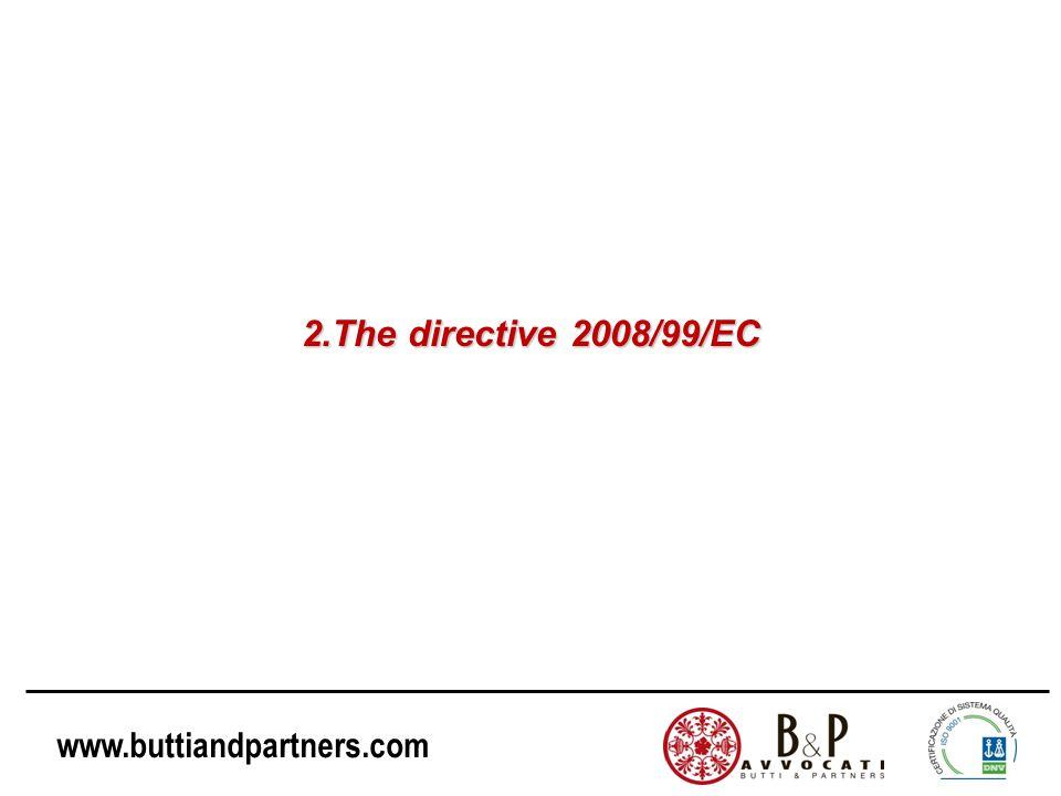 2.The directive 2008/99/EC