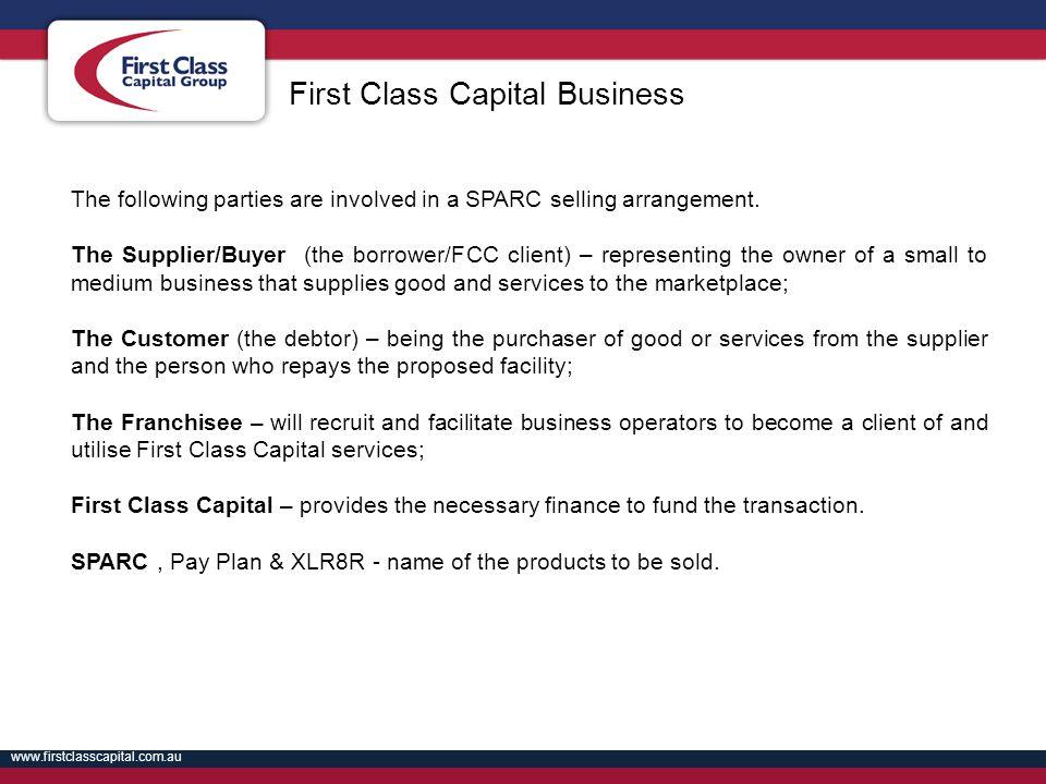 First Class Capital Business