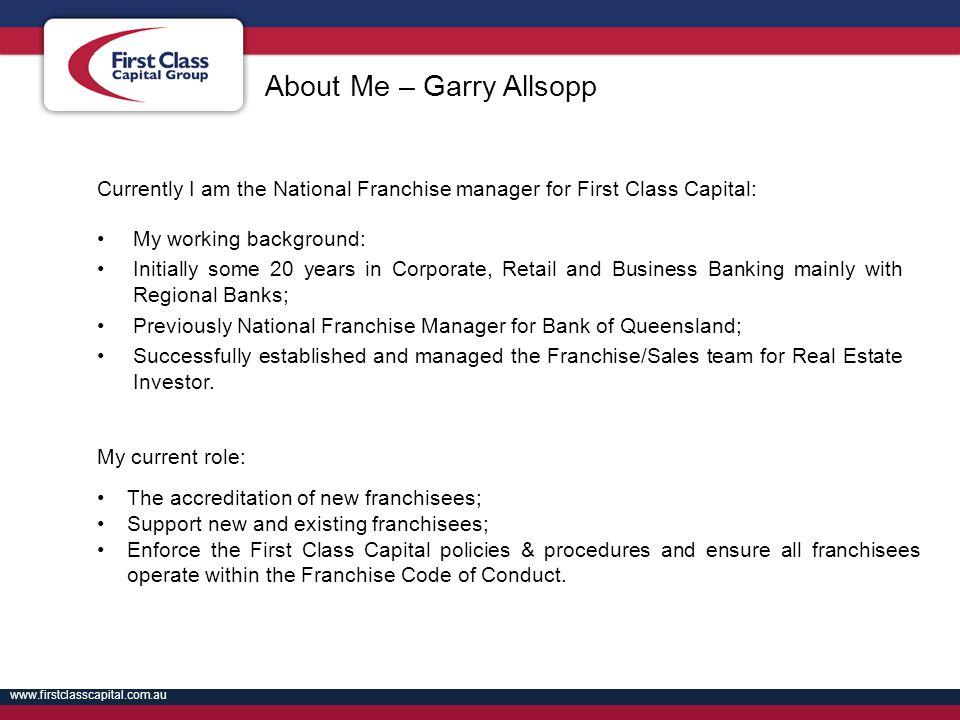 About Me – Garry Allsopp