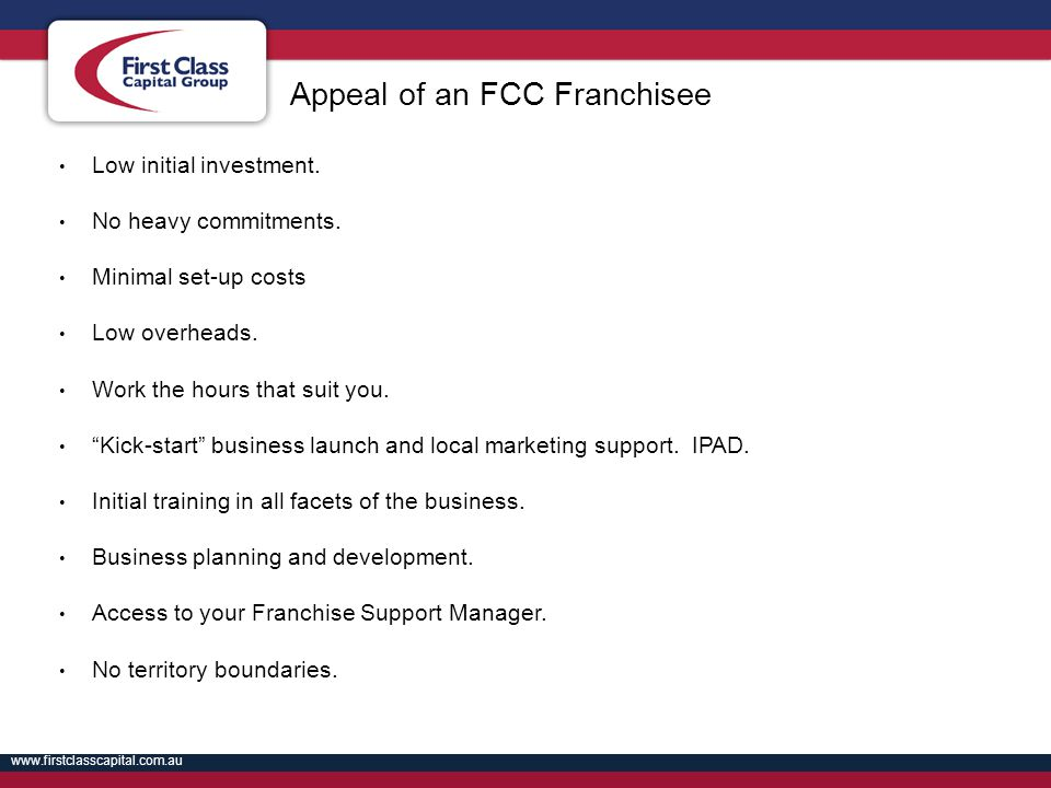Appeal of an FCC Franchisee