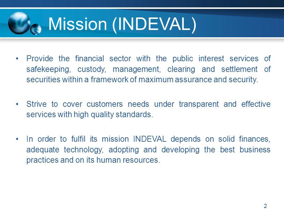 Mission (INDEVAL)