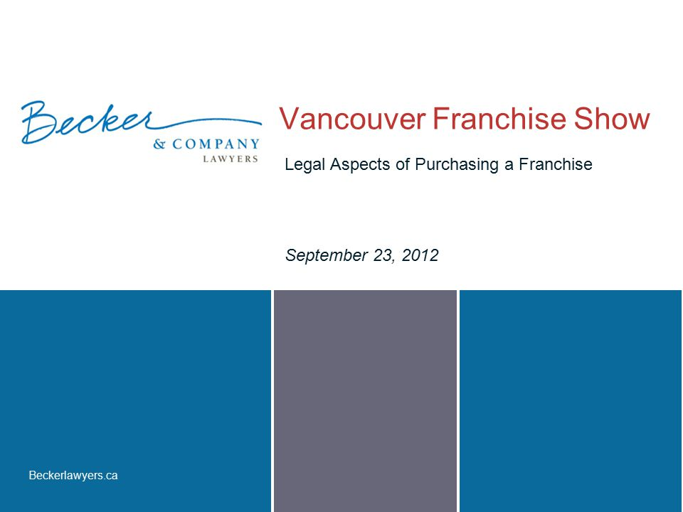 Vancouver Franchise Show