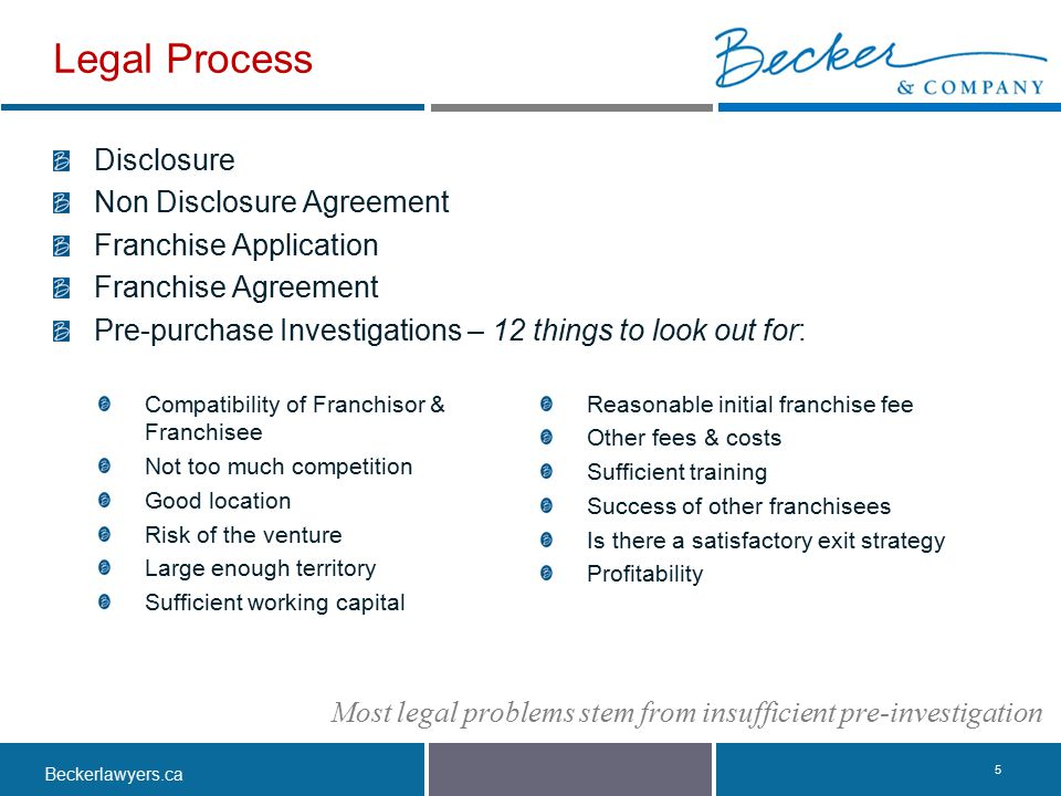 Legal Process Disclosure Non Disclosure Agreement