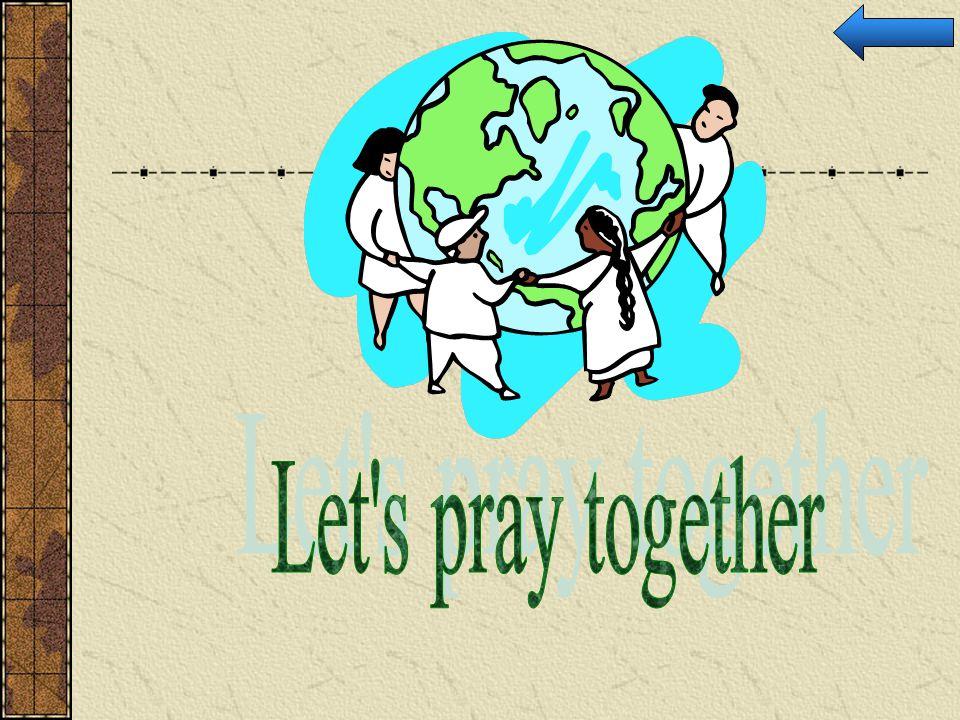 Let s pray together