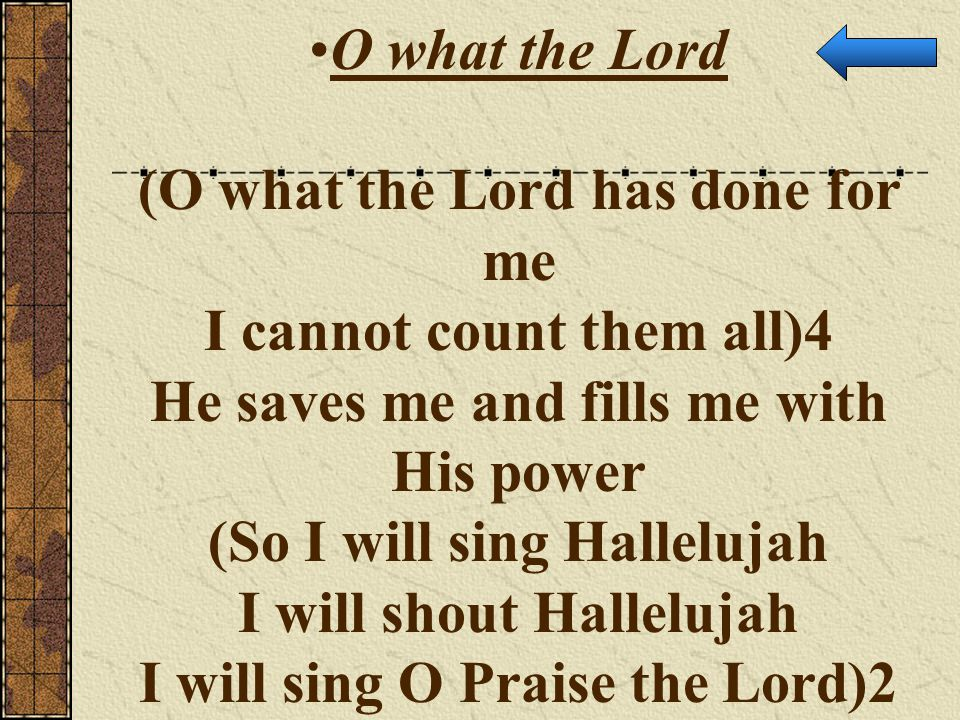 what the lord has done in me pdf