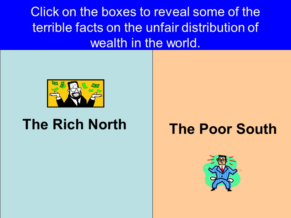 The Rich North The Poor South