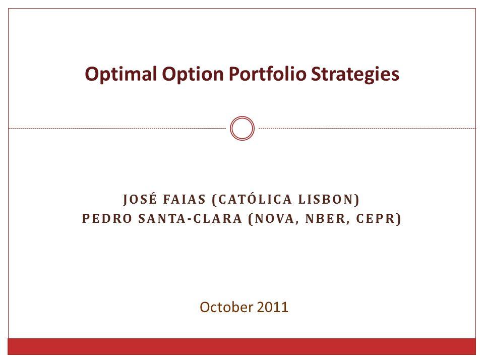 Optimal Option Portfolio Strategies