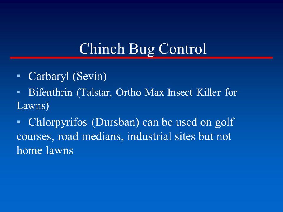 Chinch Bug Control Carbaryl (Sevin)