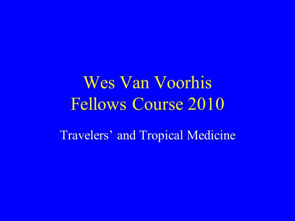 Wes Van Voorhis Fellows Course 2010