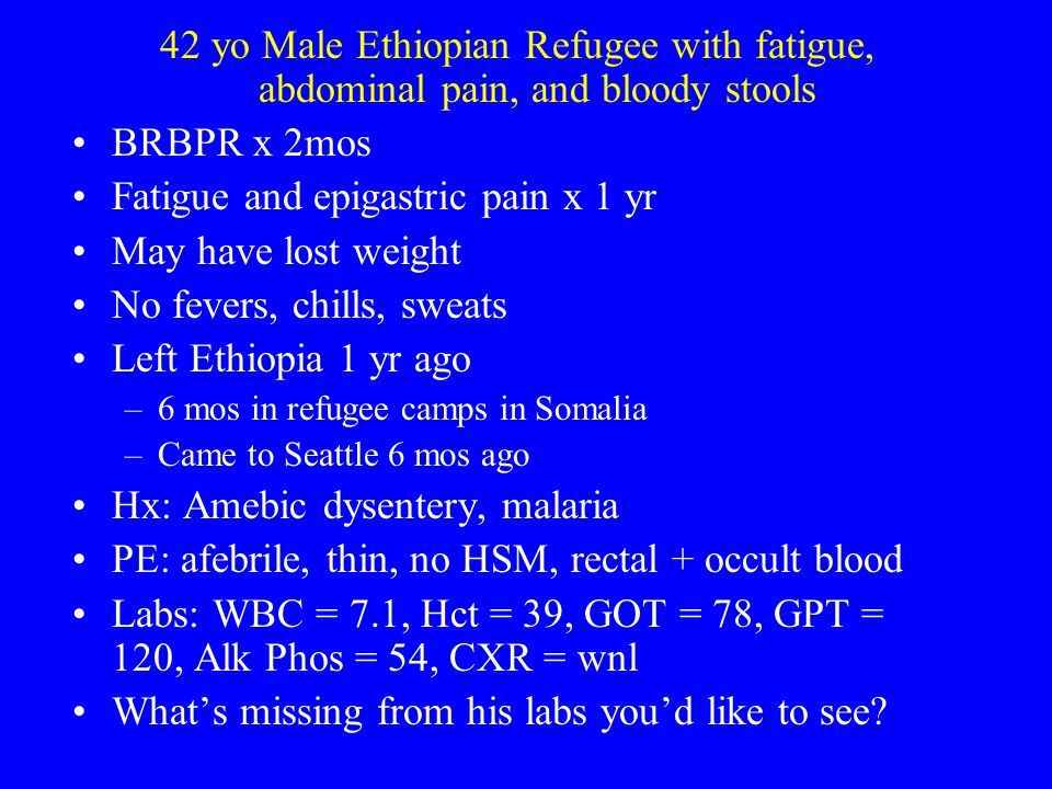 Cases from Tropical Medicine and ID Clinic