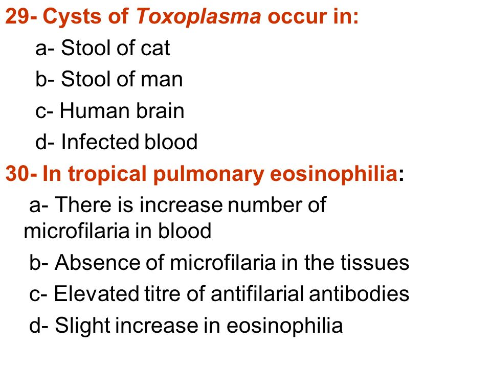 29- Cysts of Toxoplasma occur in: