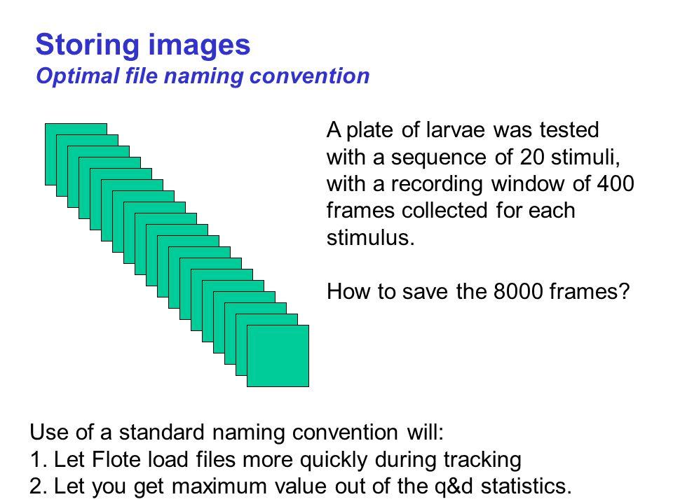 Storing images Optimal file naming convention