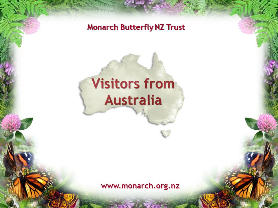 Visitors from Australia