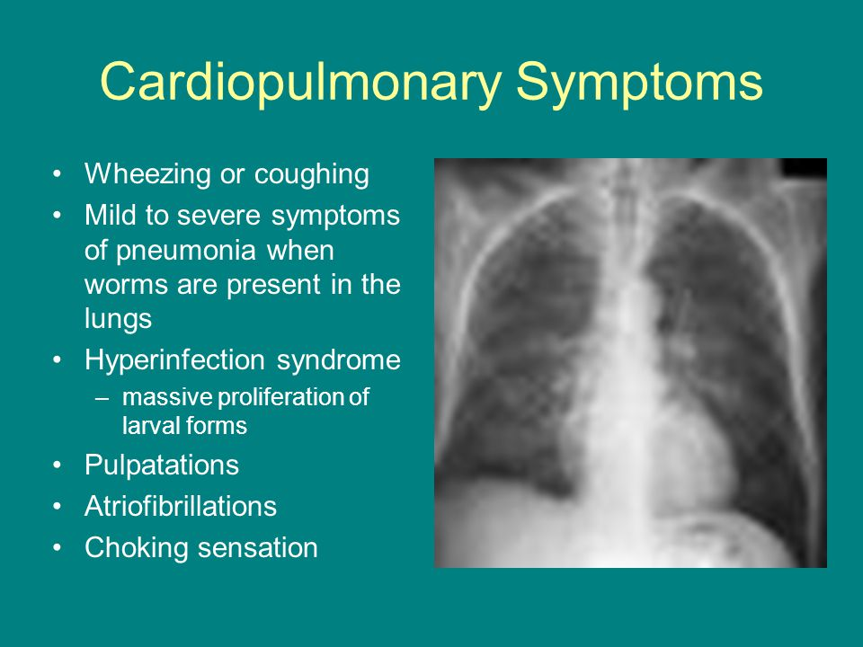 Cardiopulmonary Symptoms